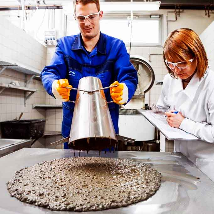 Лаборатория по сертификации бетона
